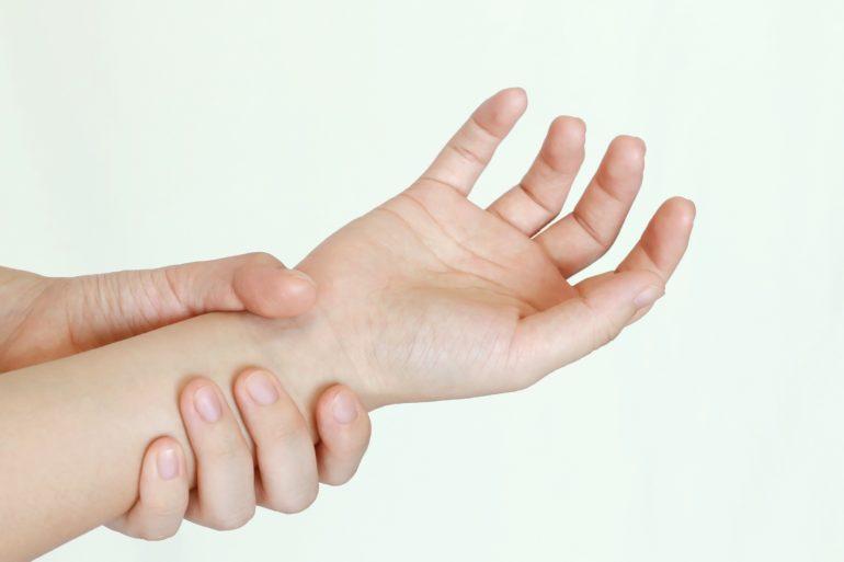 指・手・手首の症状